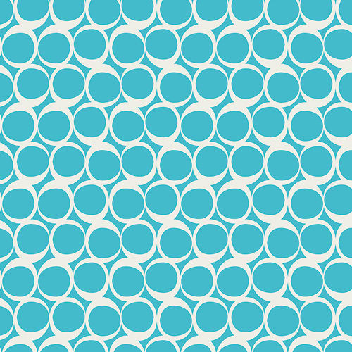 AGF Round Elements 307, Crystalline Blue