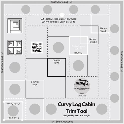 Curvy Log Cabin Trim Tool 8 inch