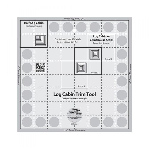 Log Cabin Trim Tool 8 inch