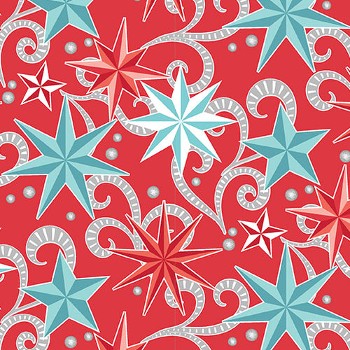 Nordic Holiday - Nordic Star Red