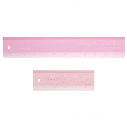 "Add A Quarter Plus Lineal pink 6"" und 12"""