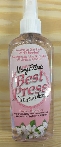 Best Press Bügelspray 6oz (177ml) Cherry Blossom