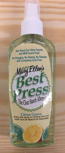 Best Press Bügelspray 6oz (177ml) Citrus Grove