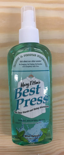 Best Press Bügelspray 6oz (177ml) Mint Splash