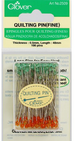 Clover Quilting Pin Fine