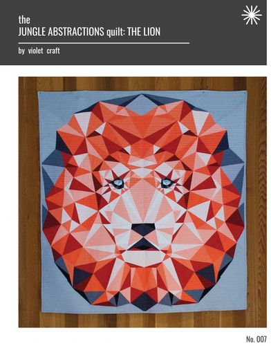 Jungle Abstractions: The Lion Quilt