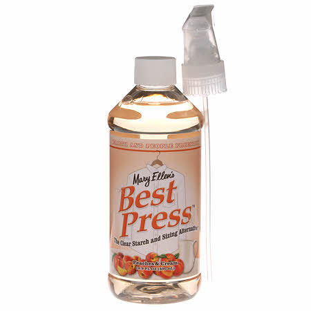 Best Press Bügelspray 16oz (473ml) Peaches & Cream