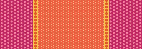 Dot Crazy Playground Panel Strawberry