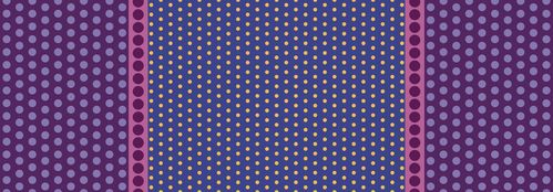 Dot Crazy Playground Panel Purple