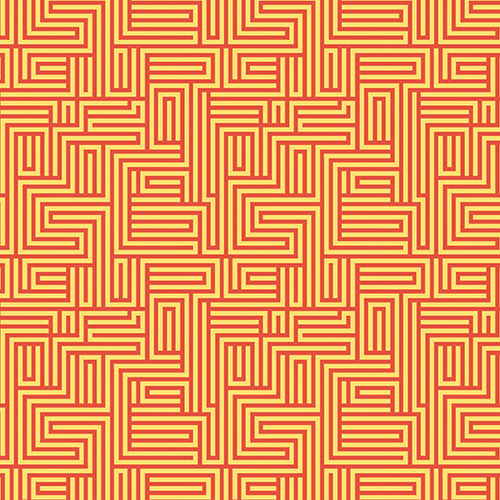 Dot Crazy Maze Orange