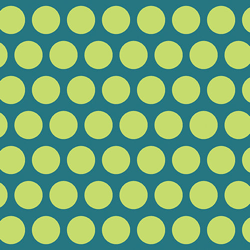 Dot Crazy Large Dot Teal