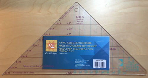 Flying Geese Triangle Ruler