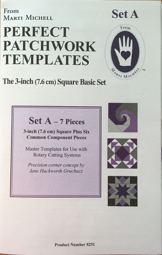Perfect Patchwork Templates Set A