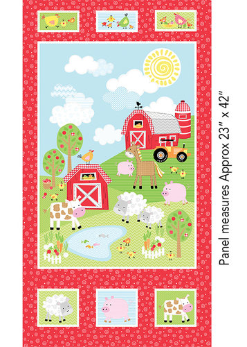Happy Farms - Panel (60cm)