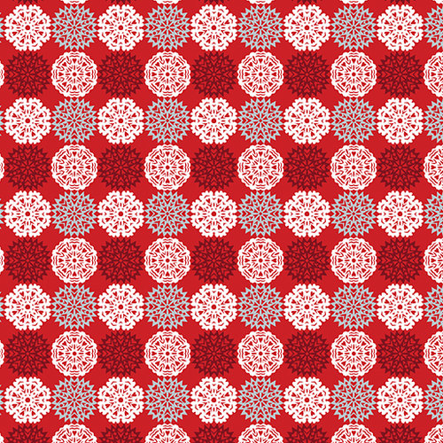 Paper Cut Flakes Red
