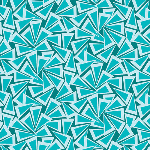 Fandangle - Triangle Trinkets Teal