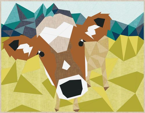 the Cow Abstractions Quilt
