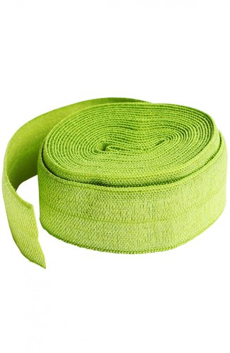 Fold Over Elastic - Apple Green