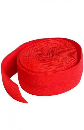 Fold Over Elastic - Atom Red