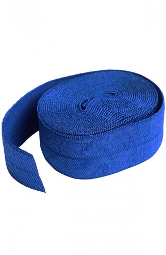 Fold Over Elastic - Blastoff Blue