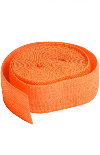 Fold Over Elastic - Pumpkin