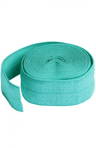 Fold Over Elastic - Turquoise
