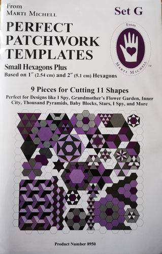 Perfect Patchwork Templates Set G