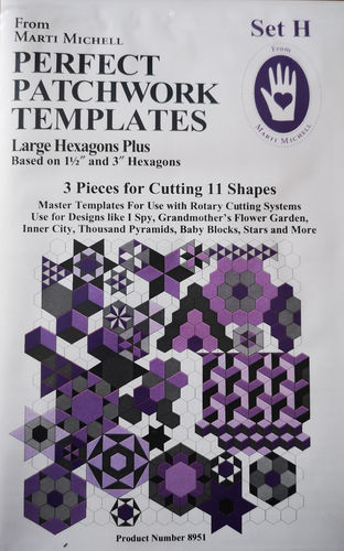 Perfect Patchwork Templates Set H
