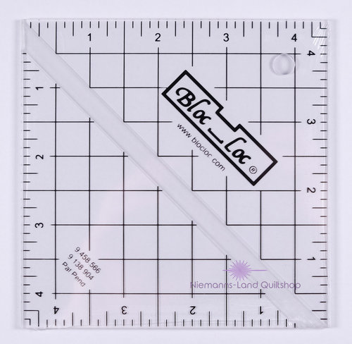 BlocLoc Lineal Half Square Triangle 4,5 inch