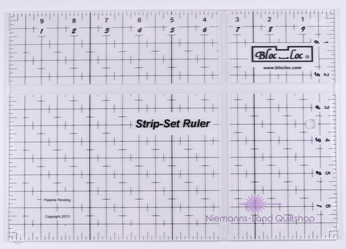 BlocLoc Lineal Strip Set Ruler