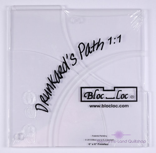 BlocLoc Lineal Drunkards Path 6 inch