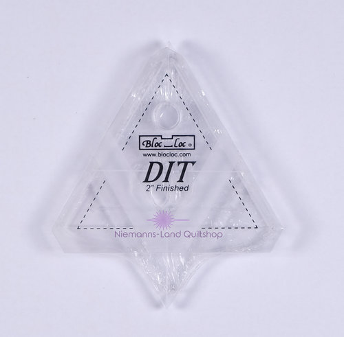 BlocLoc Lineal Diamond in a Triangle 2 inch