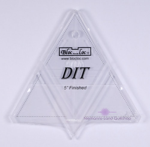 BlocLoc Lineal Diamond in a Triangle 5 inch