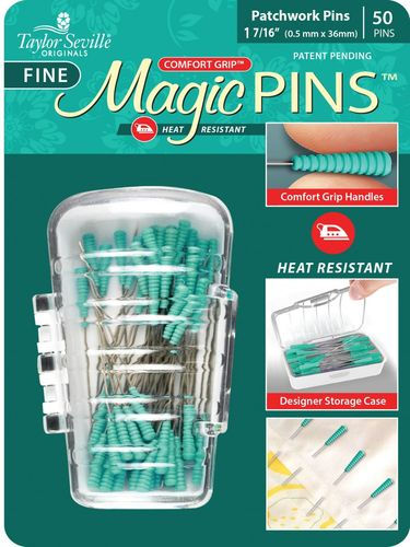 Magic Pins Fine Patchwork - 50 Stück