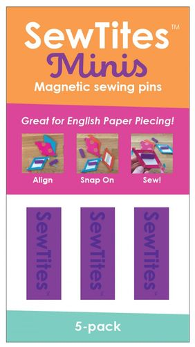 Sew Tites Mini - Magnetic sewing pins (5-er Pack)