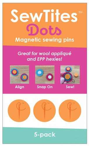 Sew Tites Dots - Magnetic sewing pins (5-er Pack)