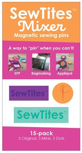 Sew Tites Mixer - Magnetic sewing pins (15-er Pack)