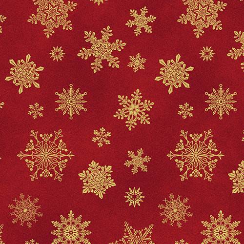 Cat-I-tude Christmas - Playful Flakes - Red