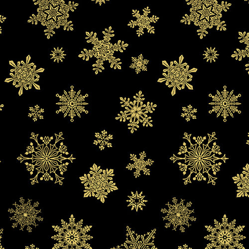 Cat-I-tude Christmas - Playful Flakes - Black