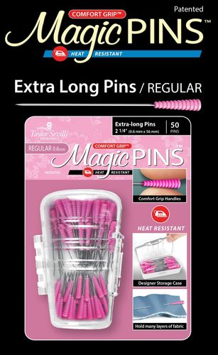Magic Pins - Extra long / Regular - 50 Stück