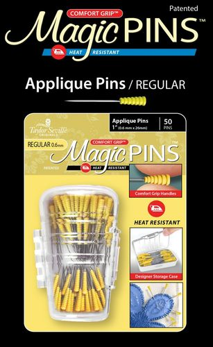Magic Pins - Appliqué Pins  - 50 Stück