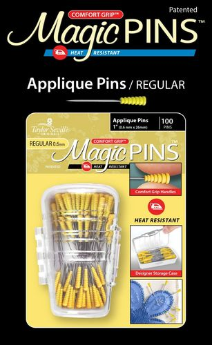 Magic Pins - Appliqué Pins- 100 Stück
