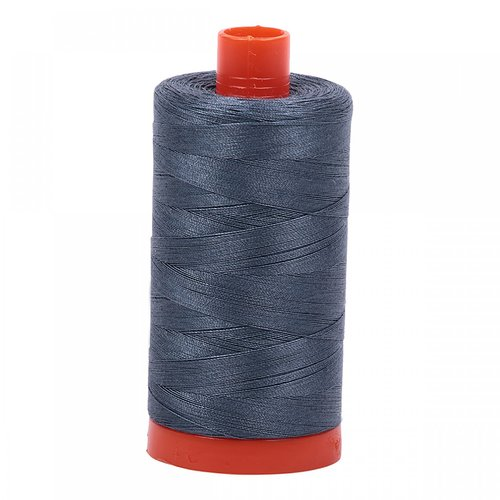 Aurifil Baumwollgarn 50 Wt, 1300m, Medium Grey - 1158