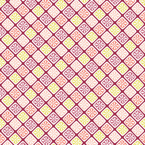 Choose to Shine -  Lattice Flower Raspberry