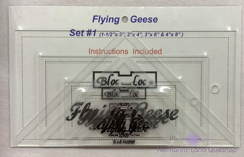 BlocLoc Lineal Flying Geese Set 1