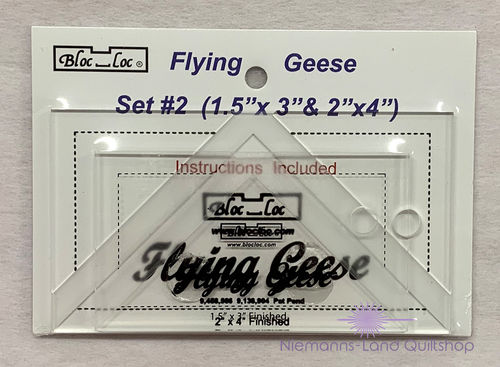 BlocLoc Lineal Flying Geese Set 2