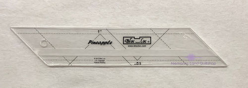 BlocLoc Pineapple Ruler 0,5 inch & 1 inch