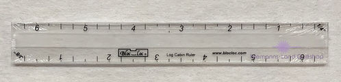 BlocLoc Log Cabin Ruler 0,25 inch & 0,375 inch
