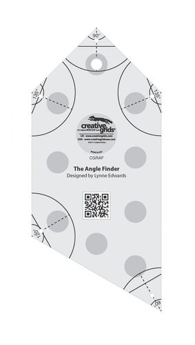 Angle Finder Ruler and Binding Tool