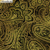 Radiant Paisley - Chestnut / Gold